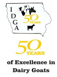 IDGA 50th Anniversary Logo